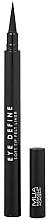 Parfémy, Parfumerie, kosmetika Oční linky - MUA Eye Define Soft Tip Felt Liner