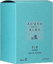 Parfémy, Parfumerie, kosmetika Acqua Dell Elba Blu Donna - Toaletní voda