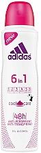 Parfémy, Parfumerie, kosmetika Deodorant - Adidas Anti-Perspirant 6 in 1 Cool&Care 48h