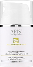 Parfémy, Parfumerie, kosmetika Krém na obličej, noční - APIS Professional Home TerApis Brightening Night Cream