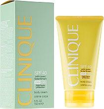 Parfémy, Parfumerie, kosmetika Tělový krém na opalování - Clinique Body Cream