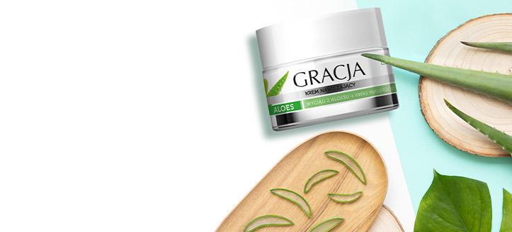 Získej hydratační krém jako dárek k nákupu produktů Gracja v hodnotě nad 194 Kč