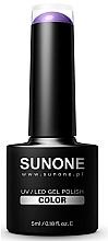 Parfémy, Parfumerie, kosmetika Hybridní gel -lak na nehty - Sunone UV/LED Gel Polish Color