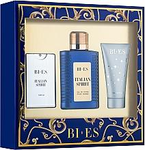 Parfémy, Parfumerie, kosmetika Bi-Es Italian Spirit - Sada (edt/100ml + edt/15ml + sh/gel/50ml)