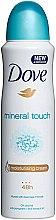 "Parfémy, Parfumerie, kosmetika Deodorant ""Dotek přírody"" - Dove Mineral Touch Deo Spray"