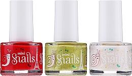 Parfémy, Parfumerie, kosmetika Sada laků na nehty - Snails Festive Mini