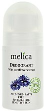 Parfémy, Parfumerie, kosmetika Deodorant s extraktem z chrpy - Melica Organic With Camomile Extract Deodorant