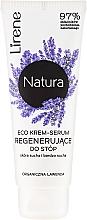Parfémy, Parfumerie, kosmetika Krém na nohy Levandule - Lirene Natura Eco Organic Lavender