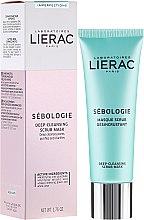 Parfémy, Parfumerie, kosmetika Scrub maska na obličej - Lierac Sebologie Deep Cleansing Scrub Mask