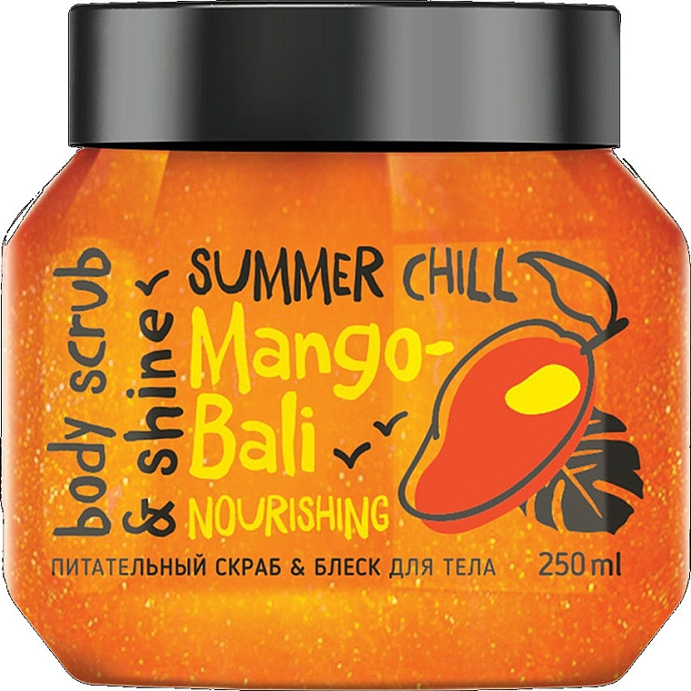 Tělový peeling Lesk a výživa - MonoLove Bio Mango-Bali Nourishing