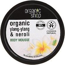 """Parfémy, Parfumerie, kosmetika Tělová pěna """"Balijská květina"""" - Organic Shop Organic Ylang-Ylang & Neroli Body Mousse"""