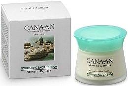 Parfémy, Parfumerie, kosmetika Vyživující krém pro normální a suchou pleť - Canaan Minerals & Herbs Nourishing Facial Cream Normal to Dry Skin