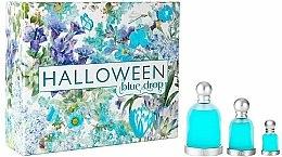 Parfémy, Parfumerie, kosmetika Jesus Del Pozo Halloween Blue Drop - Sada (edt/100ml + edt/30ml + edt/4.5ml)