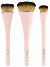 Parfémy, Parfumerie, kosmetika Sada štětců na make-up, 3ks - EcoTools 360 Ultimate Blend