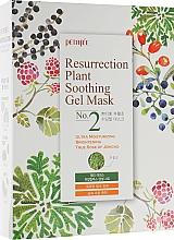 Parfémy, Parfumerie, kosmetika Hydratační pleťová maska pro matnou a unavenou pleť - Petitfee&Koelf Resurrection Plant Soothing Gel Mask