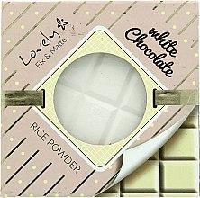 Parfémy, Parfumerie, kosmetika Pudr na obličej - Lovely White Chocolate Rice Powder
