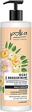 Parfémy, Parfumerie, kosmetika Kondicionér na vlasy Broskvový ocet - Polka Peach Vinegar Conditioner