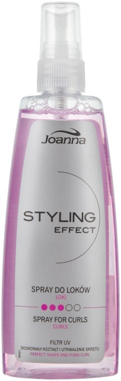 Stylingový sprej pro úpravu kudrnatých vlasů - Joanna Styling Effect Curly Spray