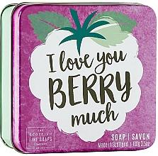 Parfémy, Parfumerie, kosmetika Tělové mýdlo v metalické nádobě Lesní plody - Scottish Fine Soap In A Tin Fruits Berry Soap