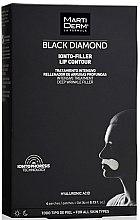 Parfémy, Parfumerie, kosmetika Náplasti na oblast kolem rtů - MartiDerm Black Diamond Ionto-Filler Lip Contour