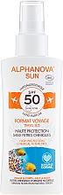 Parfémy, Parfumerie, kosmetika Ochranný sprej proti slunci - Alphanova Sun Bio SPF50 Spray Voyage