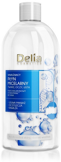 Hydratační micelární voda - Delia Hialuron Micellar Water