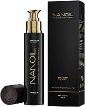 Parfémy, Parfumerie, kosmetika Olej na vlasy se střední porézností - Nanoil Hair Oil Medium Porosity