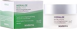 Parfémy, Parfumerie, kosmetika Hydratační krém na obličej - SesDerma Laboratories Hidraloe Moisturizing Face Cream