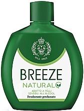 Parfémy, Parfumerie, kosmetika Breeze Deo Squeeze Natural Essence - Tělový deodorant