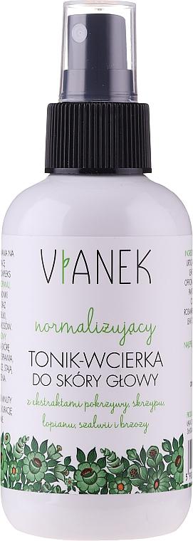 Normalizující tonikum pro pokožku hlavy - Vianek Normalizing Hair Tonic