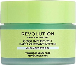 Parfémy, Parfumerie, kosmetika Oční gel s okurkou - Revolution Skincare Cooling Boost Cucumber Eye Gel
