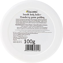 """Tělový olej """"Jahodově guavový pudink"""" - Nacomi Smooth Body Butter Strawberry-Guawa Pudding — foto N2"""