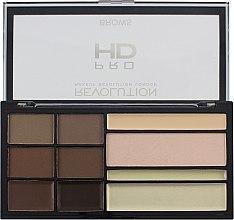 Parfémy, Parfumerie, kosmetika Paleta na tvarování obočí - Makeup Revolution HD Pro Brows