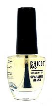 Parfémy, Parfumerie, kosmetika Olivový olej na nehty Sparkling blush - Chiodo PRO