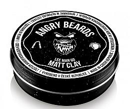 Parfémy, Parfumerie, kosmetika Vlasová hlína  - Angry Beards Lee Man Go Matt Clay
