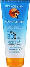 Parfémy, Parfumerie, kosmetika Hydratační opalovací emulze - Kolastyna Aqua Aksamit Suncare Emulsion SPF 30