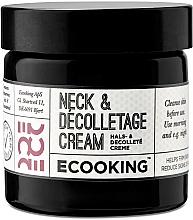 Parfémy, Parfumerie, kosmetika Krém na dekolt - Ecooking Neck & Decolletage Cream