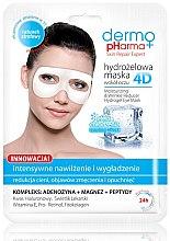 Parfémy, Parfumerie, kosmetika Maska pro plet' kolem oči - Dermo Pharma 4D Moisturizing & Wrinkle Reduct Hydrogel Eye Mask