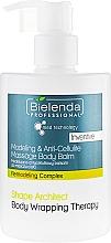 Parfémy, Parfumerie, kosmetika Anticelulitidní balzám na tělo - Bielenda Professional Med Technology Massage Body Balm