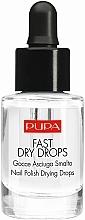 Parfémy, Parfumerie, kosmetika Roztok pro sušení laku - Pupa Fast Dry Drops