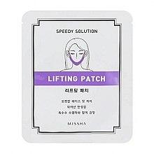 Parfémy, Parfumerie, kosmetika Modelovací podložka pro obrys obličeje - Missha Speedy Solution Lifting Patch