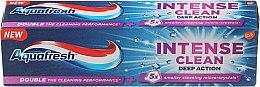 """Parfémy, Parfumerie, kosmetika Zubní pasta """"Intenzivní čištění. Hluboká akce"""" - Aquafresh Intense Clean Deep Action Toothpaste"""