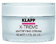 Parfémy, Parfumerie, kosmetika Matující krém na obličej - Klapp X-Treme Mattifying Cream