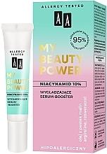 Parfémy, Parfumerie, kosmetika Vyhlazující booster sérum na obličej - AA My Beauty Power Niacinamide 10% Smoothing Serum-Booster