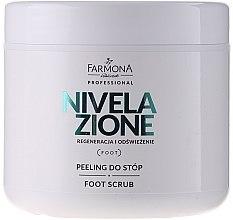 Parfémy, Parfumerie, kosmetika Nožní peeling - Farmona Professional Nivelazione