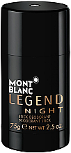 Parfémy, Parfumerie, kosmetika Montblanc Legend Night Stick - Deodorant