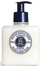 Parfémy, Parfumerie, kosmetika Čistící ultra-výživný mousse na ruce a tělo - L'occitane Shea Butter Ultra Rich Hand & Body Wash