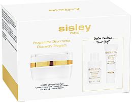 Parfémy, Parfumerie, kosmetika Sada - Sisleya L'Integral Anti-Age Eye And Lip Contour Cream Set (cr/4ml + lot/15ml + cr/lip/eye/15ml)