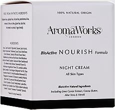 Parfémy, Parfumerie, kosmetika Noční vyživující krém - AromaWorks Nourish Night Cream