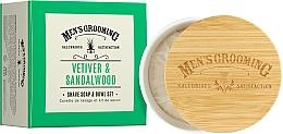 Parfémy, Parfumerie, kosmetika Mýdlo na holení Vetiver a santalové dřevo - Scottish Fine Soaps Vetiver & Sandalwood Shaving Soap